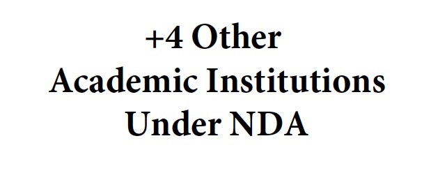 +4 Other Academic Institutions Under NDA